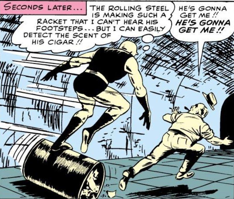 Daredevil barrel