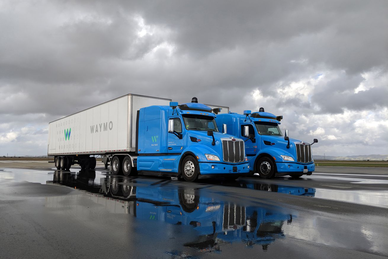 waymo s self driving trucks will start delivering freight in atlanta