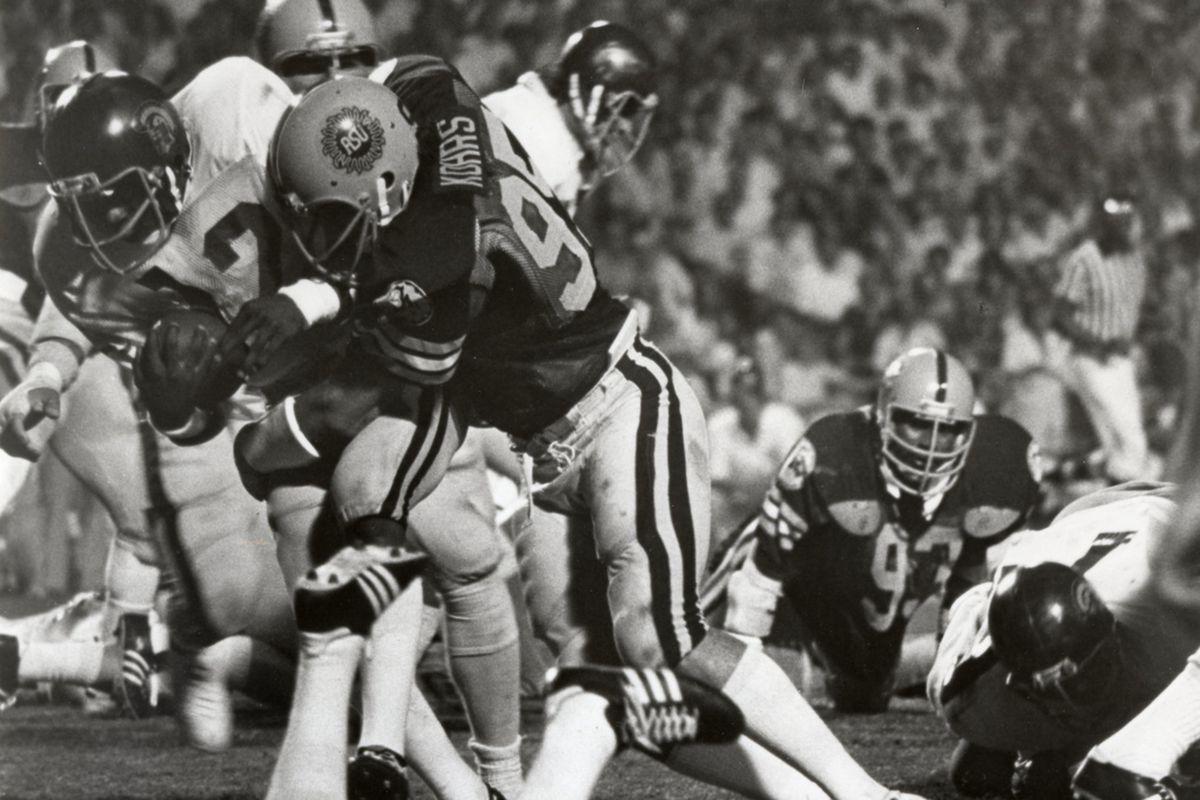 Bob Kohrs lays the lumber on USC (Photo: ASU)