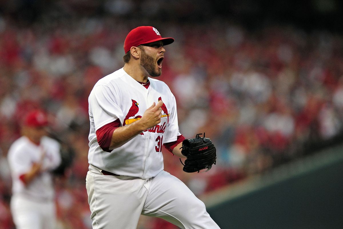 I'm old enough to remember when Lance Lynn had problems with his emotions while pitching.