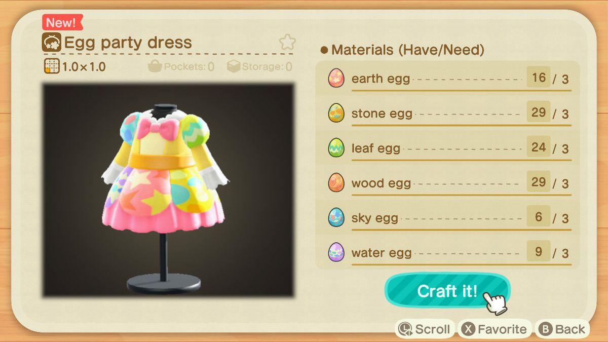 EUi18LaUwAA3dwm - Animal Crossing: New Horizons - Progetti caccia all'uovo