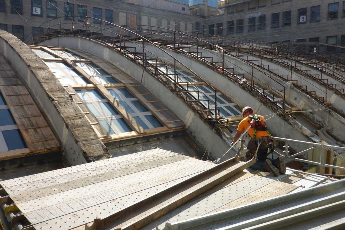 Work Begins On Chicago Union Station S 22 Million