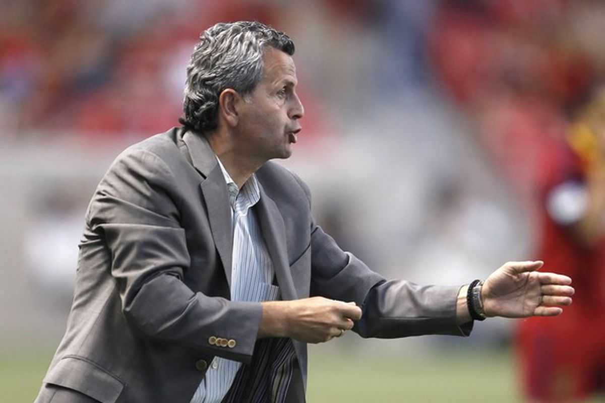 Frank Klopas directs the team in a 1-1 draw at Real Salt Lake that marked a turning point in the season.