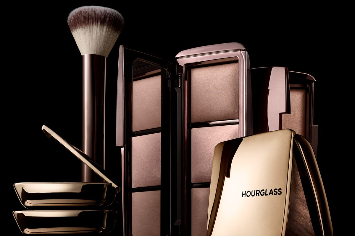 An assortment of Hourglass cosmetic products