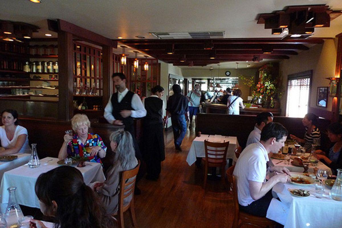 Chez Panisse Café.