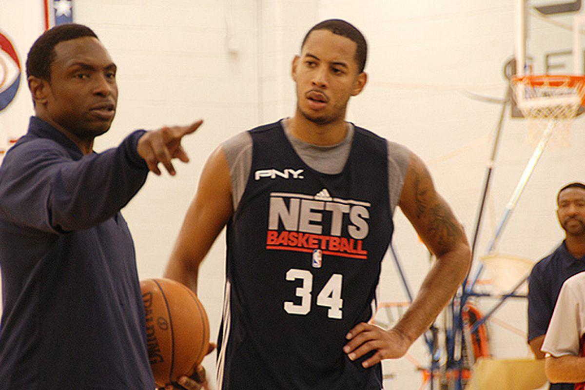 Aaaron Brown - New Jersey Nets