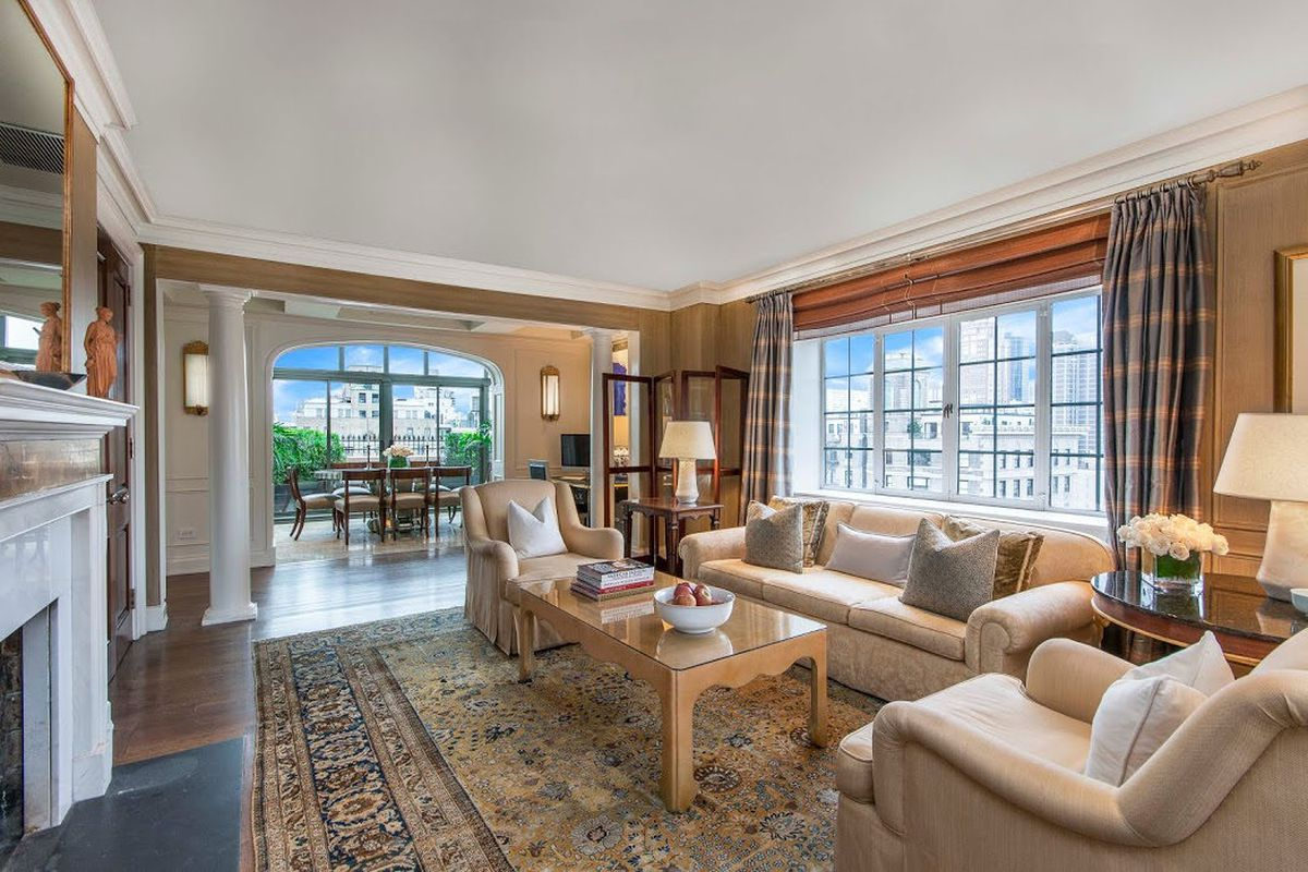 Behold A Manhattan Penthouse That Rents For 300000month Curbed Ny