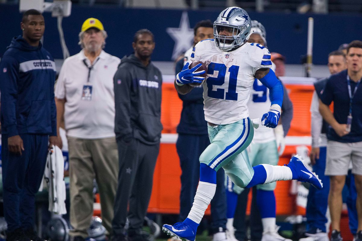"size 40 f18ae 96efd Cowboys News: Ezekiel Elliott deal ""very close"" - Blogging ..."