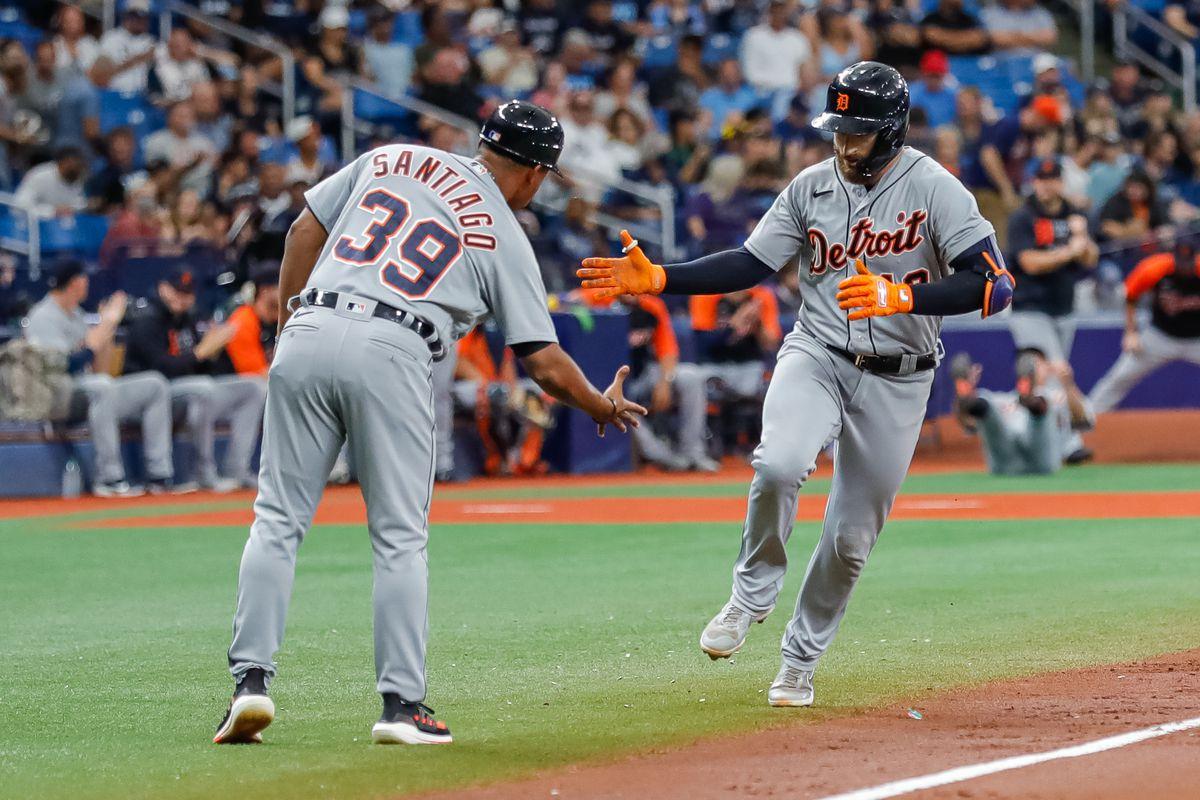 MLB: Detroit Tigers at Tampa Bay Rays