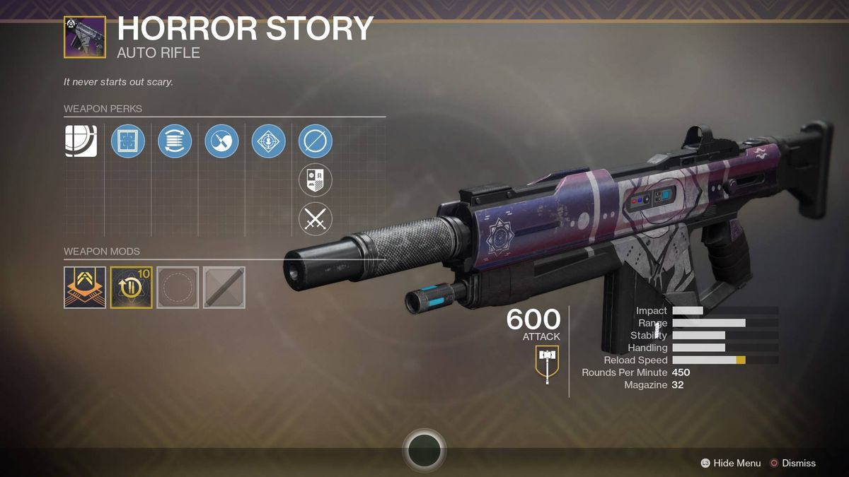 The Horror Story rifle
