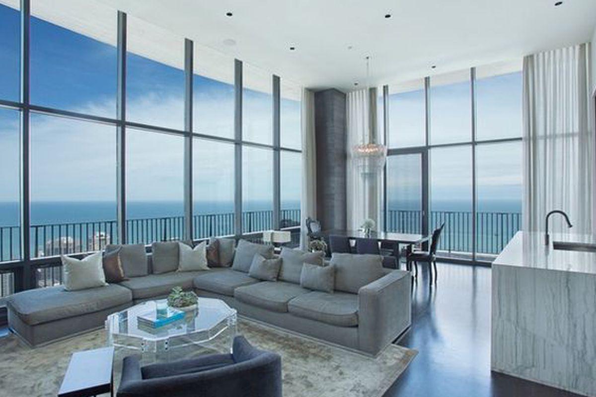 swanky kara mann-designed aqua penthouse seeks $2.595m - curbed