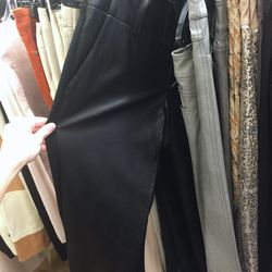 Sample leather pants, $99