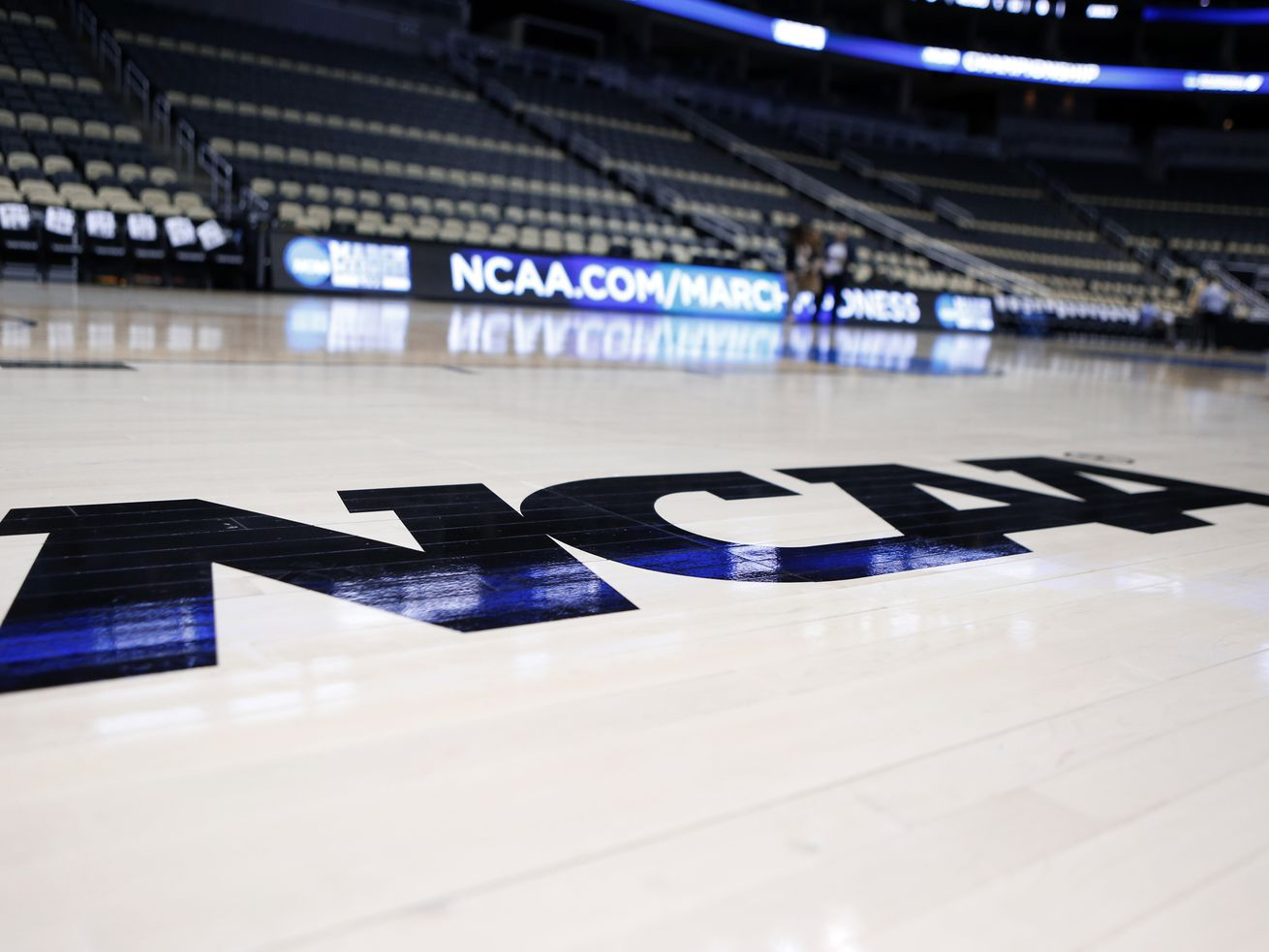The NCAA announced Monday it plans to hold the entire 2021 men's college basketball tournament in one geographic location to mitigate the risks of COVID-19.