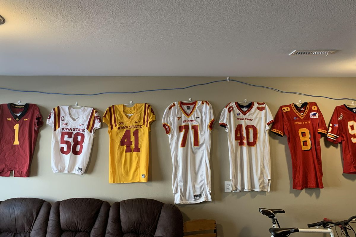 Ranked The Top 20 Iowa State Football Jerseys Wide Right