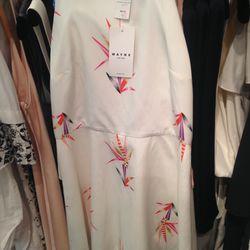 Wayne dress, size 8, $249 (was $625)