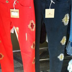 Summer Santa Fe leggings. The watered-down, more wearable answer to the Isabel Marant jeans.