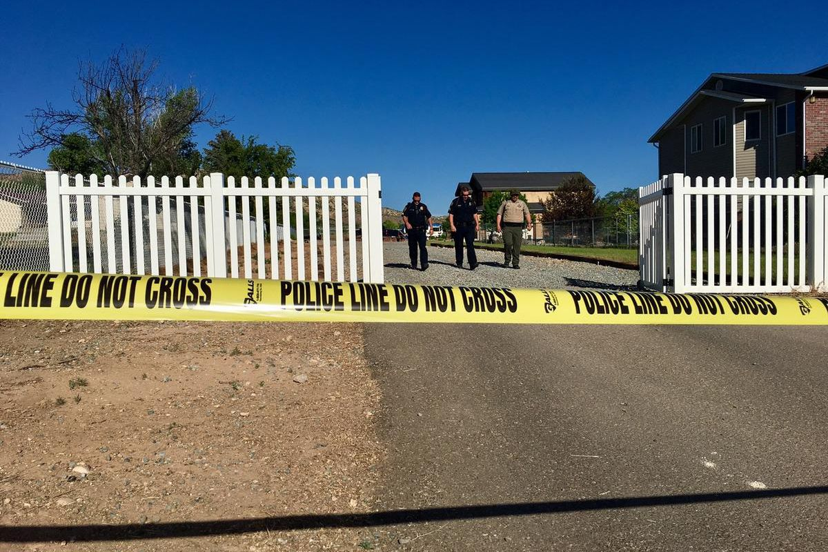 Two men are in critical condition and another is in police custody following a shooting in Uintah County early Thursday.
