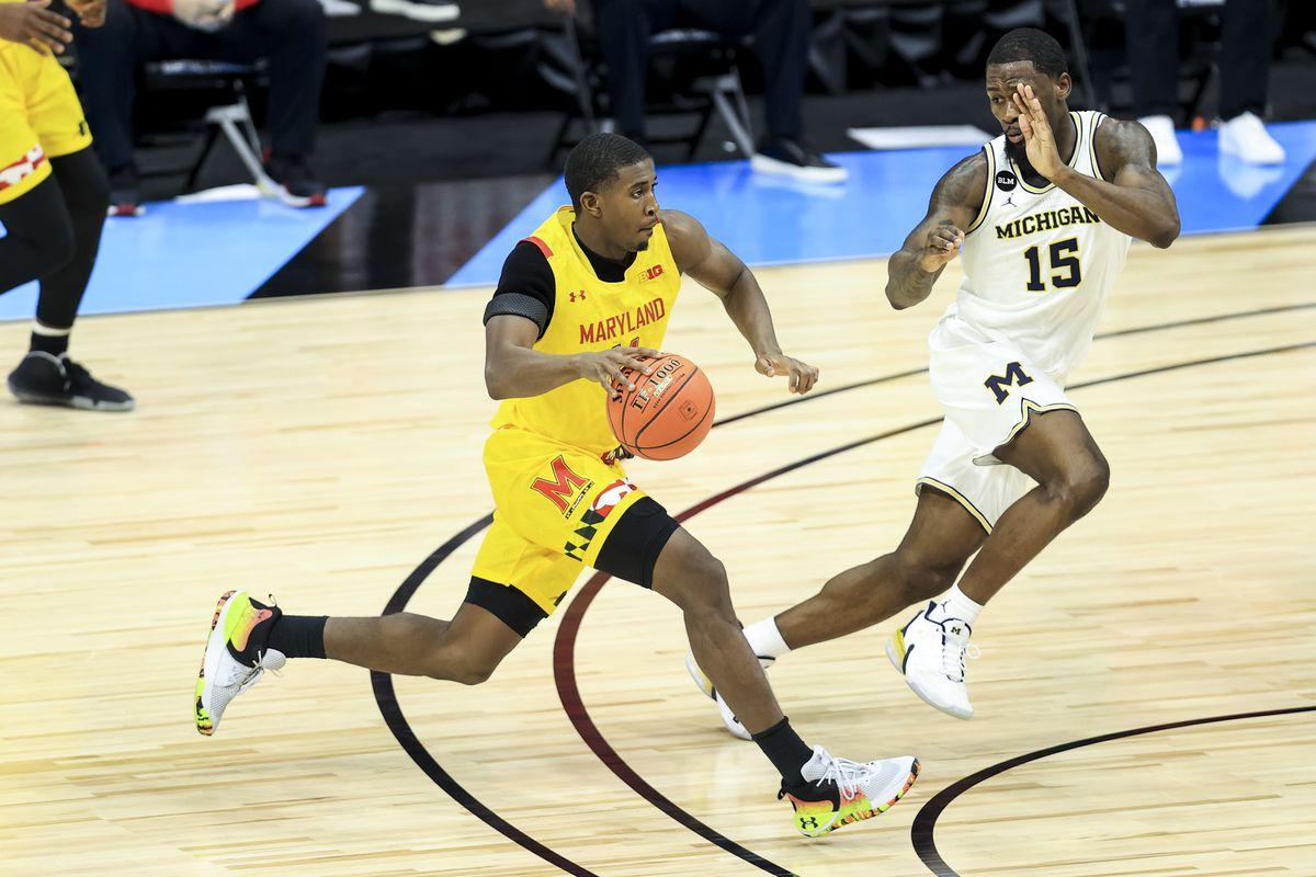 NCAA Basketball: Big Ten Conference Tournament-Maryland vs Michigan