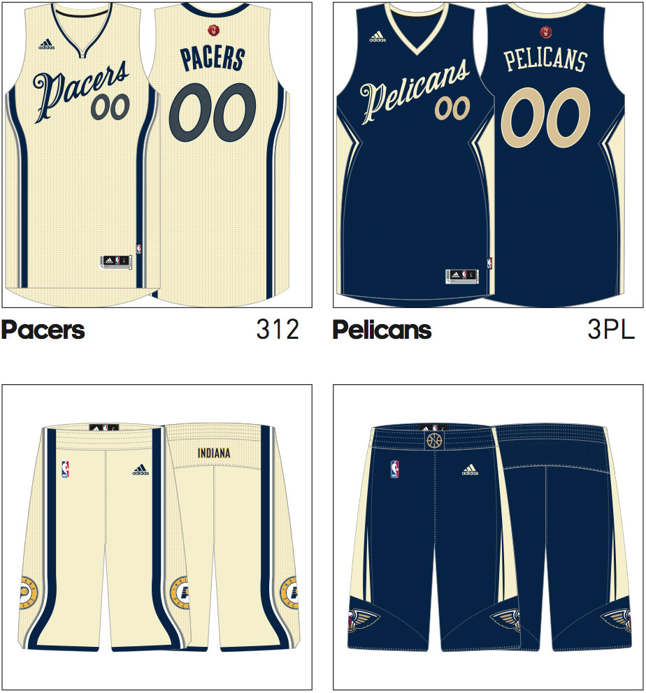 72ec8df5c Tis the season to look at Pacers 2015 Christmas Day uniforms - Indy ...