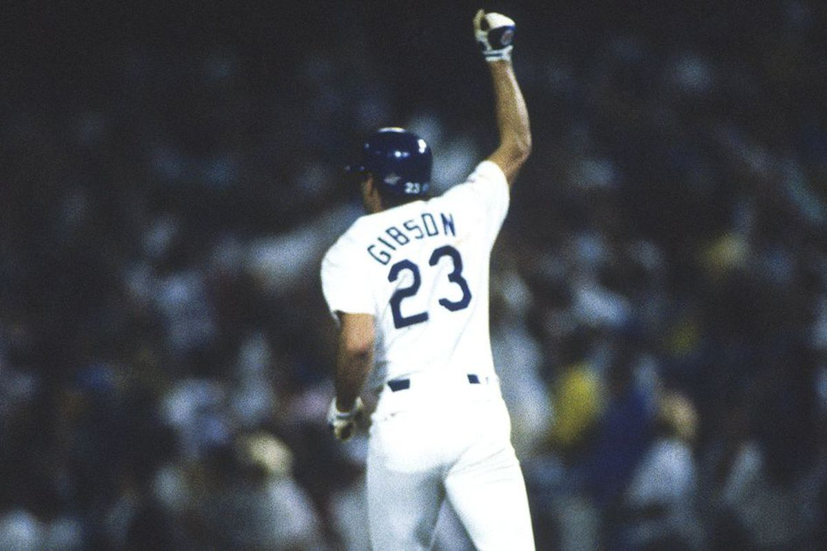 Remembering Kirk Gibson s walk-off home run 30 years later - True ... 71acc656635