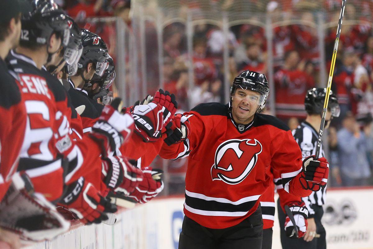 NHL: San Jose Sharks at New Jersey Devils