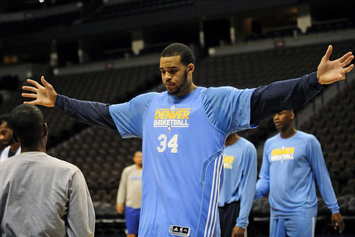 Didn't uhhhhh......didn't see any of this fellow tonight. Where were ya JaVale McGee?