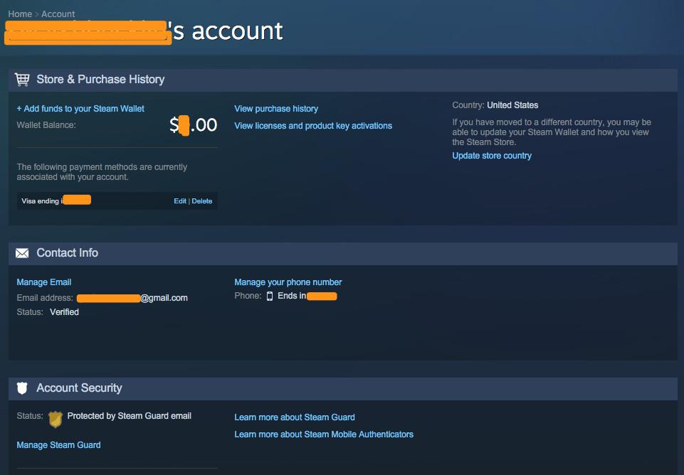 Steam Security Problem Redacted