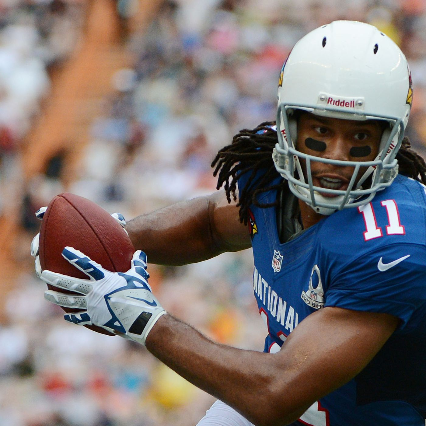 f94593814 Pro Bowl 2013: Larry Fitzgerald extends record with 8th touchdown reception