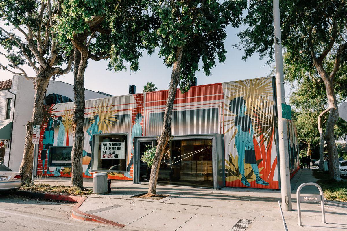 Nike by Melrose in West Los Angeles.