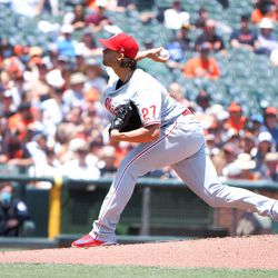 Aaron Nola, Phillies starting pitcher on Wednesday