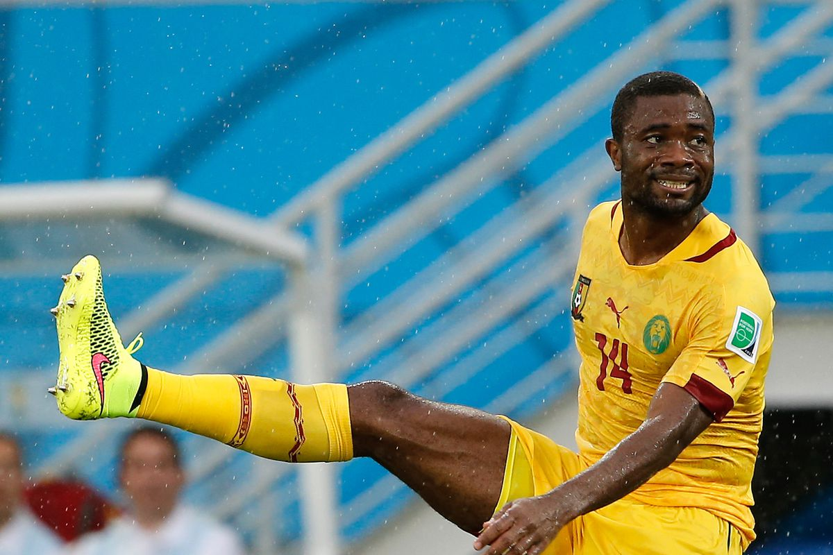 Aurelien Chedjou, because not every picture can be of Ambroise Oyongo