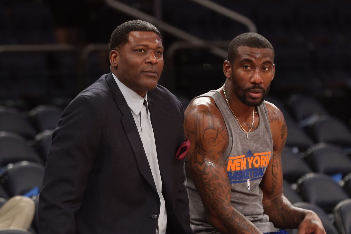 Knicks Great Larry Johnson Understands the Benefits of the NBA D