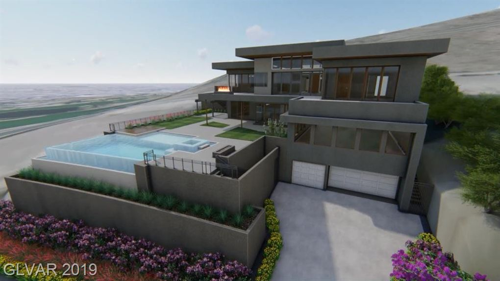 Rendering of large house with pool