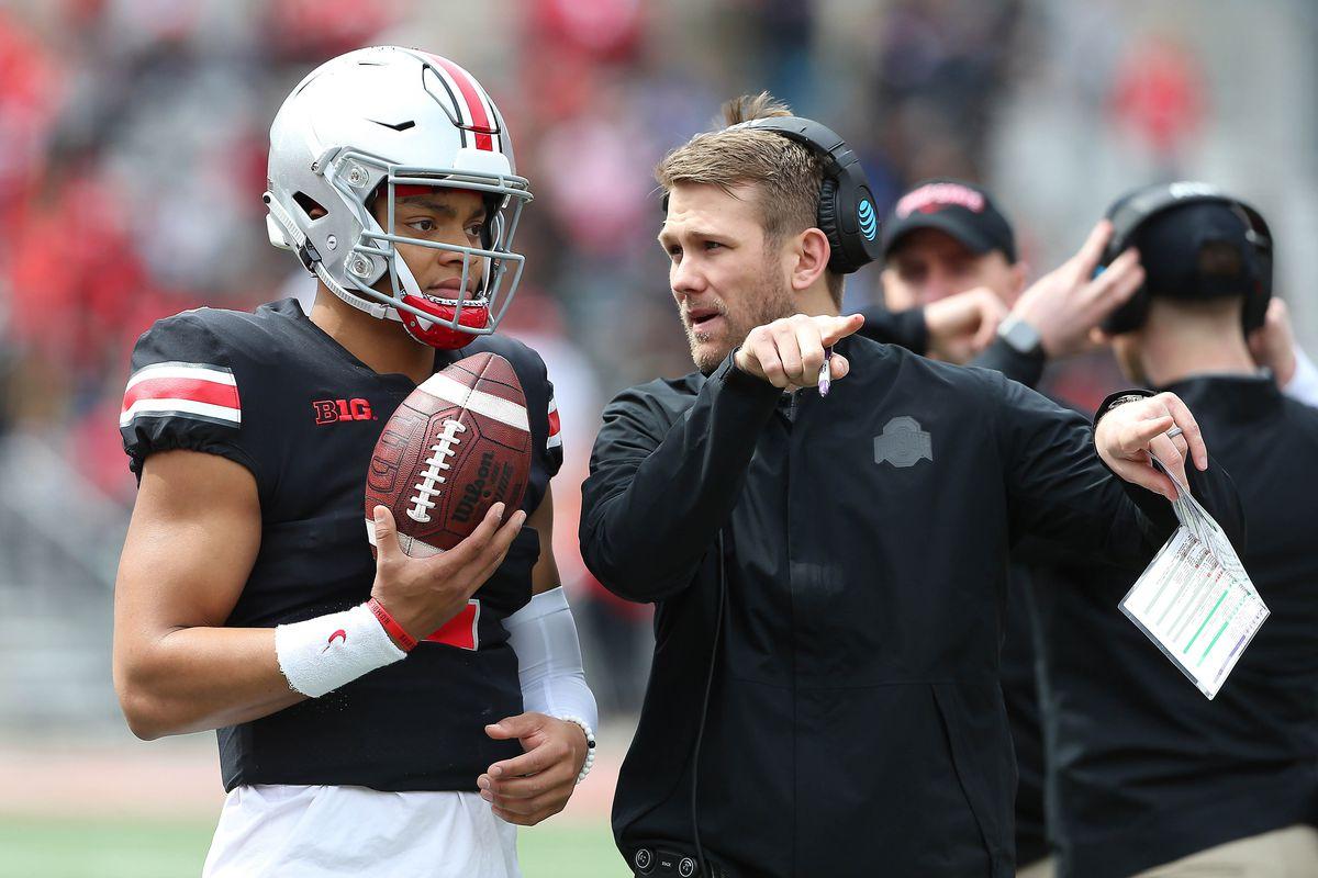 Ryan Day names Ohio State captains, Justin Fields starting quarterback