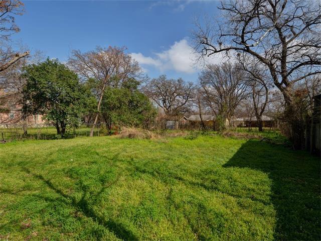 Backyard at 1175 San Bernard Street