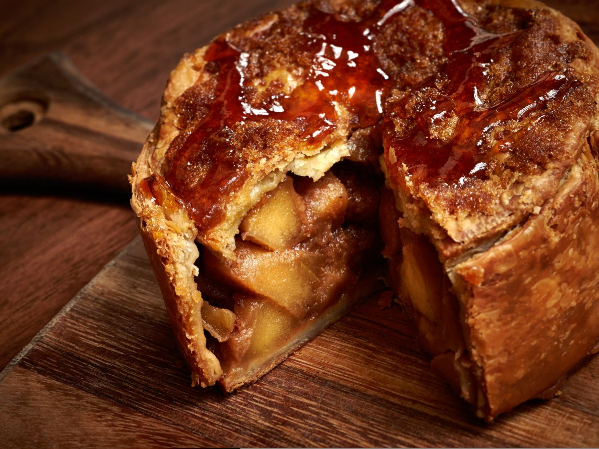 The famous apple pie from Blue Duck Tavern