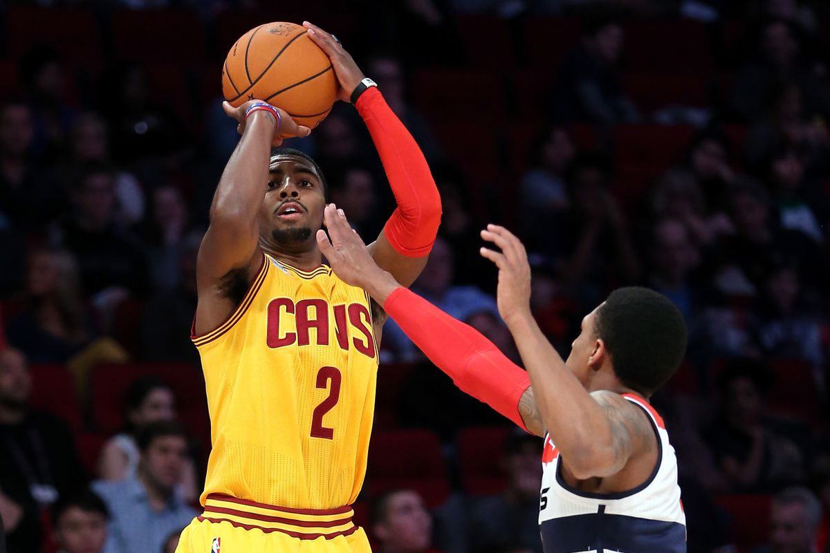 best sneakers 4603d a3f8b NBA All Star Weekend: Kyrie Irving competing in three point ...