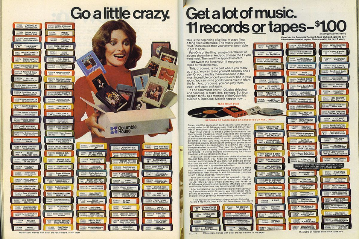 Columbia House Is Relaunching To Take Advantage Of Vinyl S