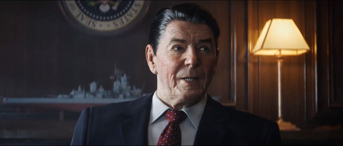 Ronald Reagan in Call of Duty: Black Ops Cold War