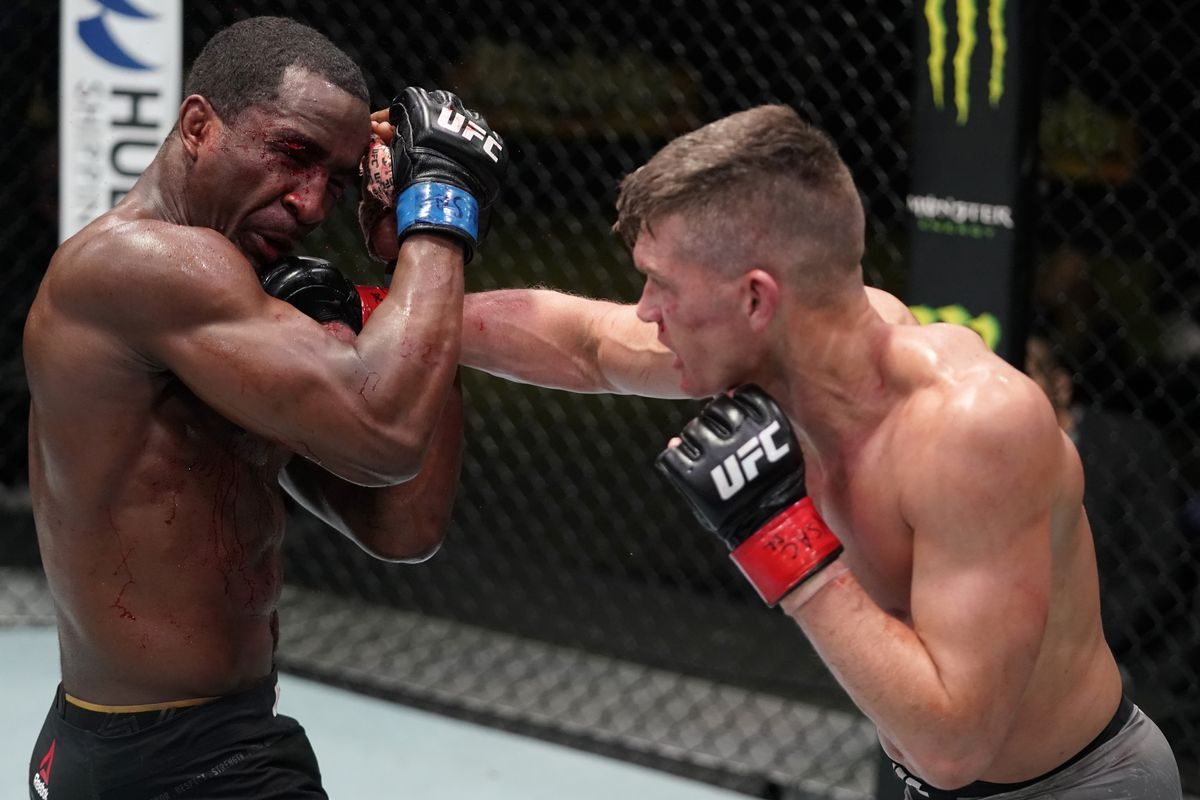 Stephen 'Wonderboy' Thompson puts on striking clinic to dominate Geoff Neal  in UFC Vegas 17 main event - MMA Fighting