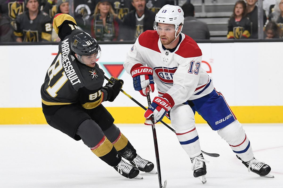 NHL: Montreal Canadiens at Vegas Golden Knights