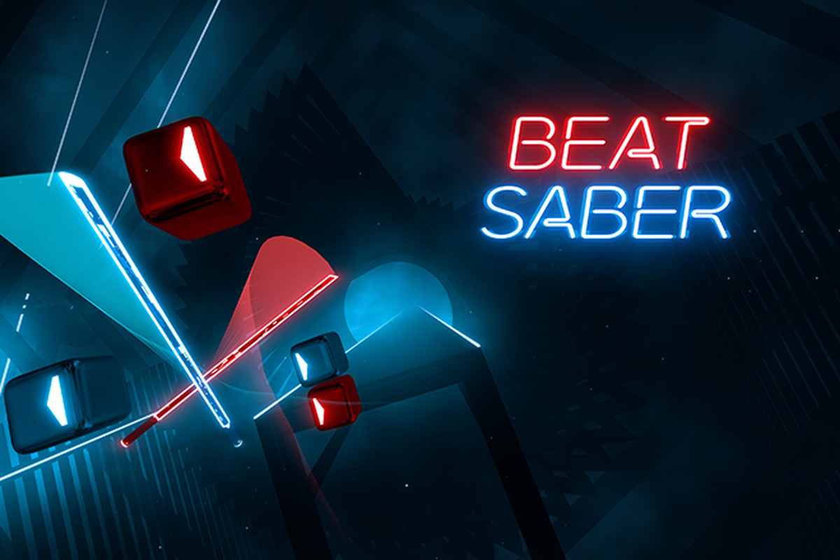 Beat Saber splash page