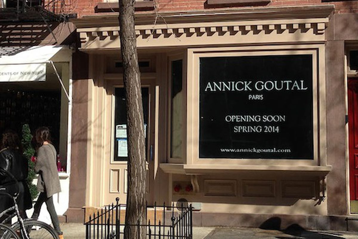 """Image via <a href=""""http://theshophound.typepad.com/the_shophound/2014/02/fragrance-entrance-annick-goutal-to-displace-nothing-on-bleecker-street.html"""">The Shophound</a>"""