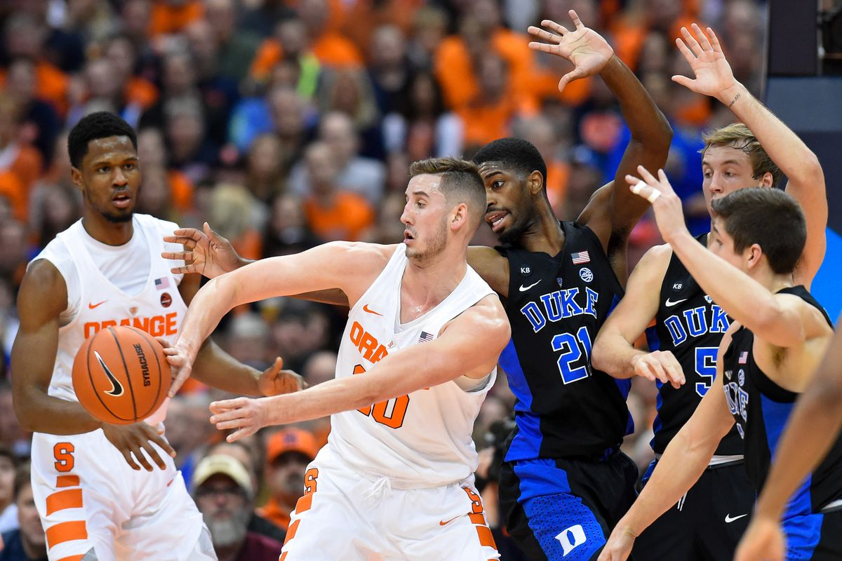The Dumbest Things About The Syracuse Vs Duke Rivalry So