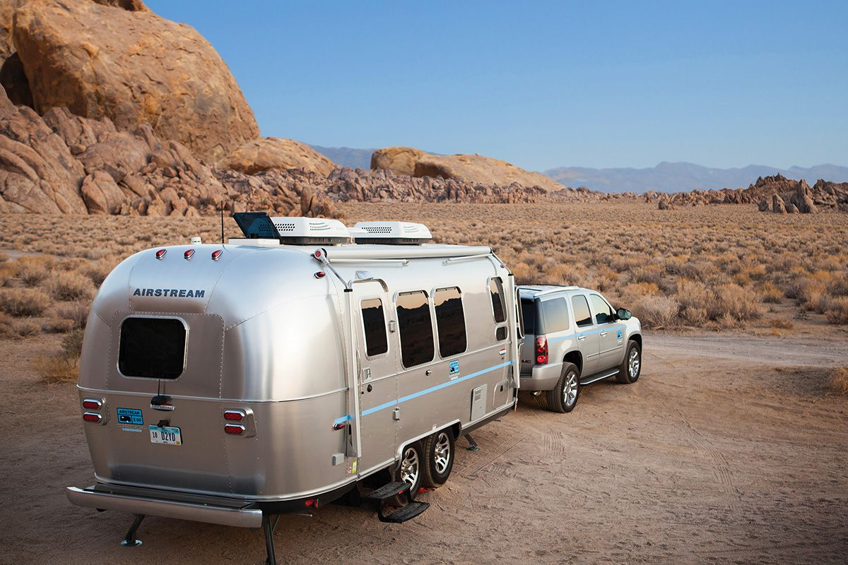 airstream 2 go lets you try camper life on for size curbed. Black Bedroom Furniture Sets. Home Design Ideas