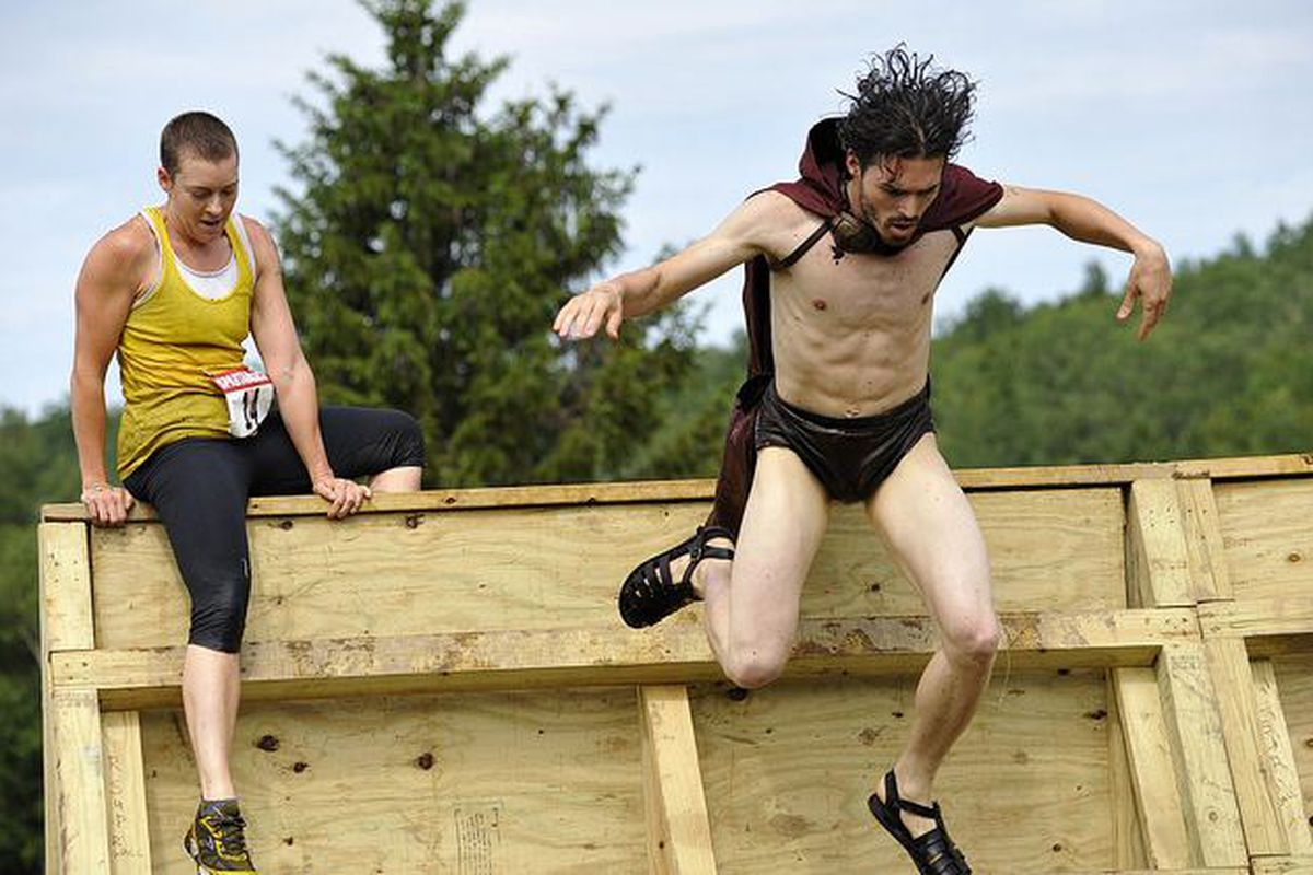 SB Nation Arizona's Kevin Ray will be participating in the Spartan Race this weekend held at Rawhide in Chandler, AZ. No word if he will wear a cape and sandals. (Photo via Spartanrace.com)