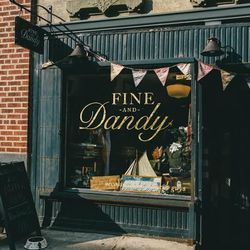 """<b>↑</b>If you're looking to treat your guy, or if you're into the menswear-inspired look, swing by <b><a href="""" http://fineanddandyshop.com/"""">Fine and Dandy</a></b> (445 West 49th Street), a style hub for dapper gents. The boutique, which stocks everythi"""