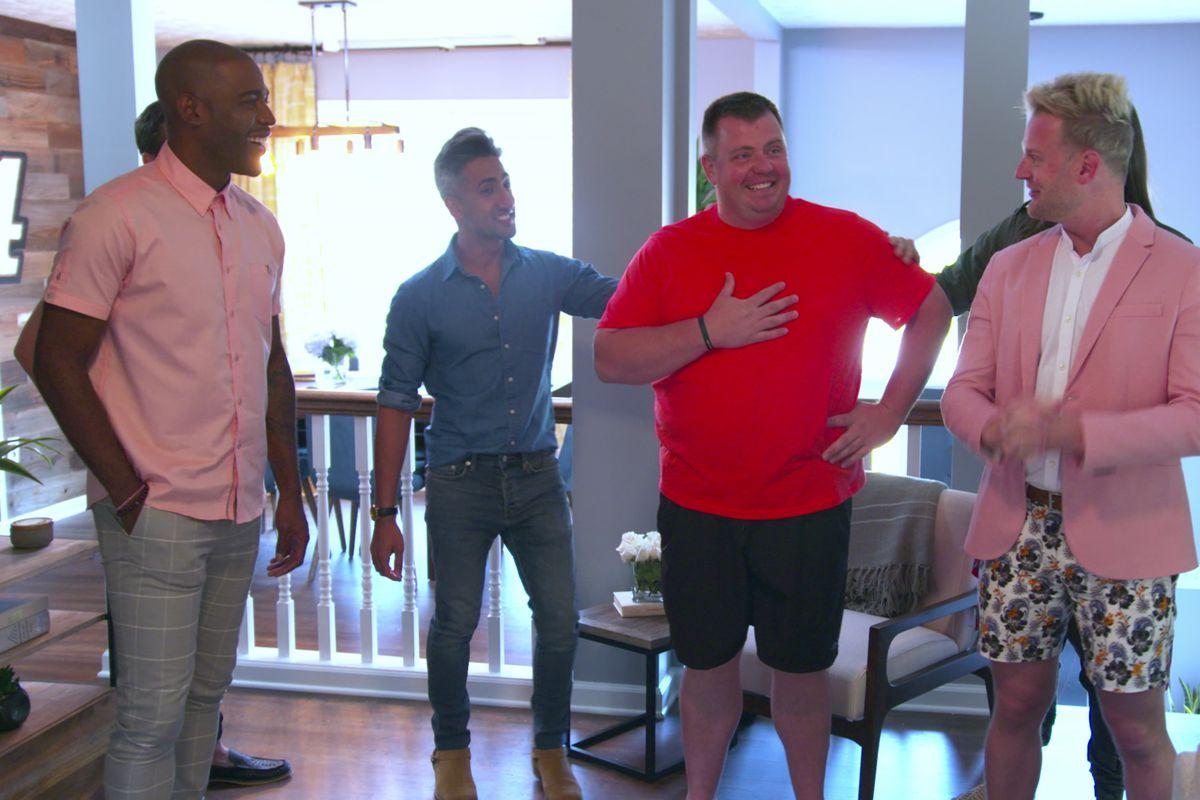 Karamo Brown, Tan France, Cory Waldrop, and Bobby Berk in 'Queer Eye'