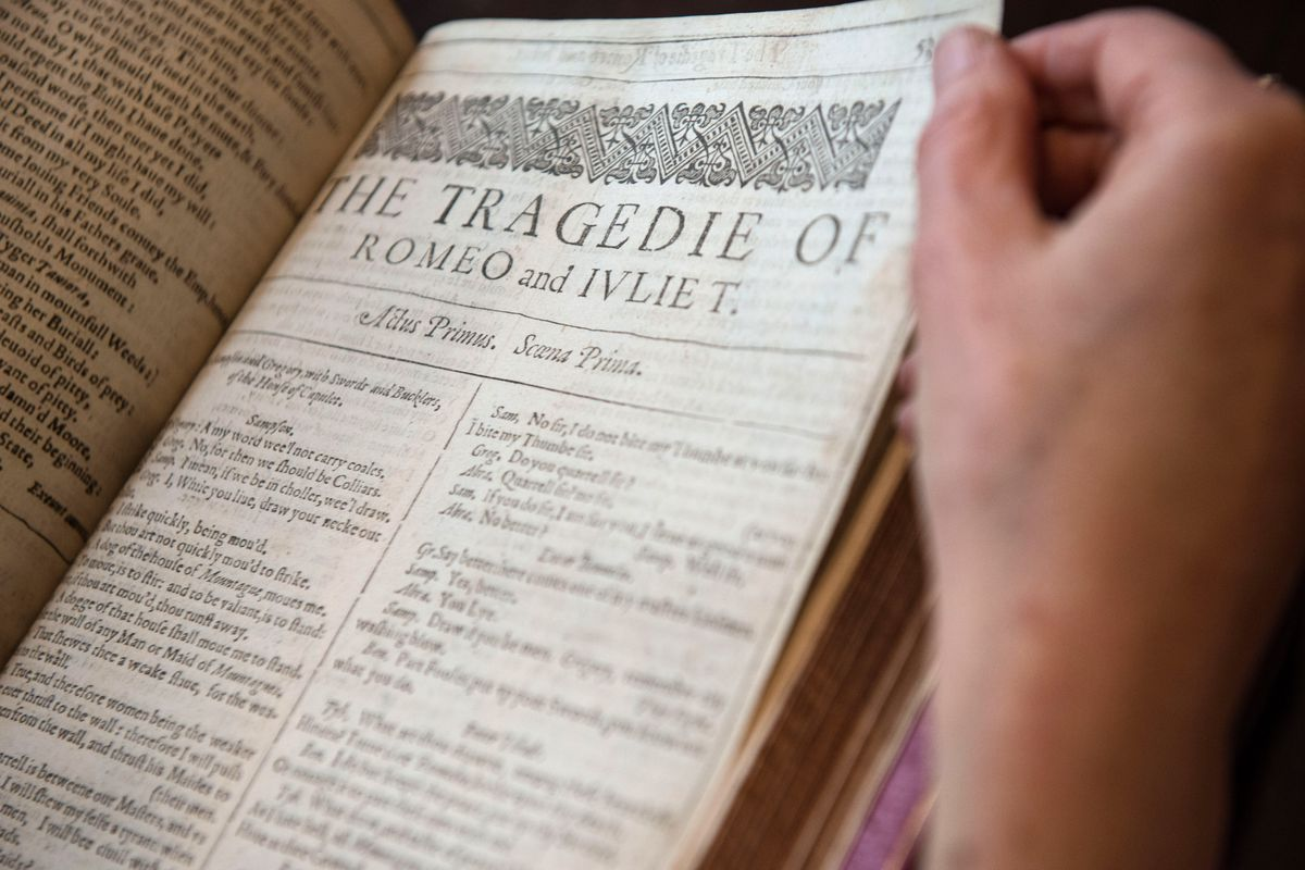 First Four Folios Of Shakespeare's Collected Work Up For Auction