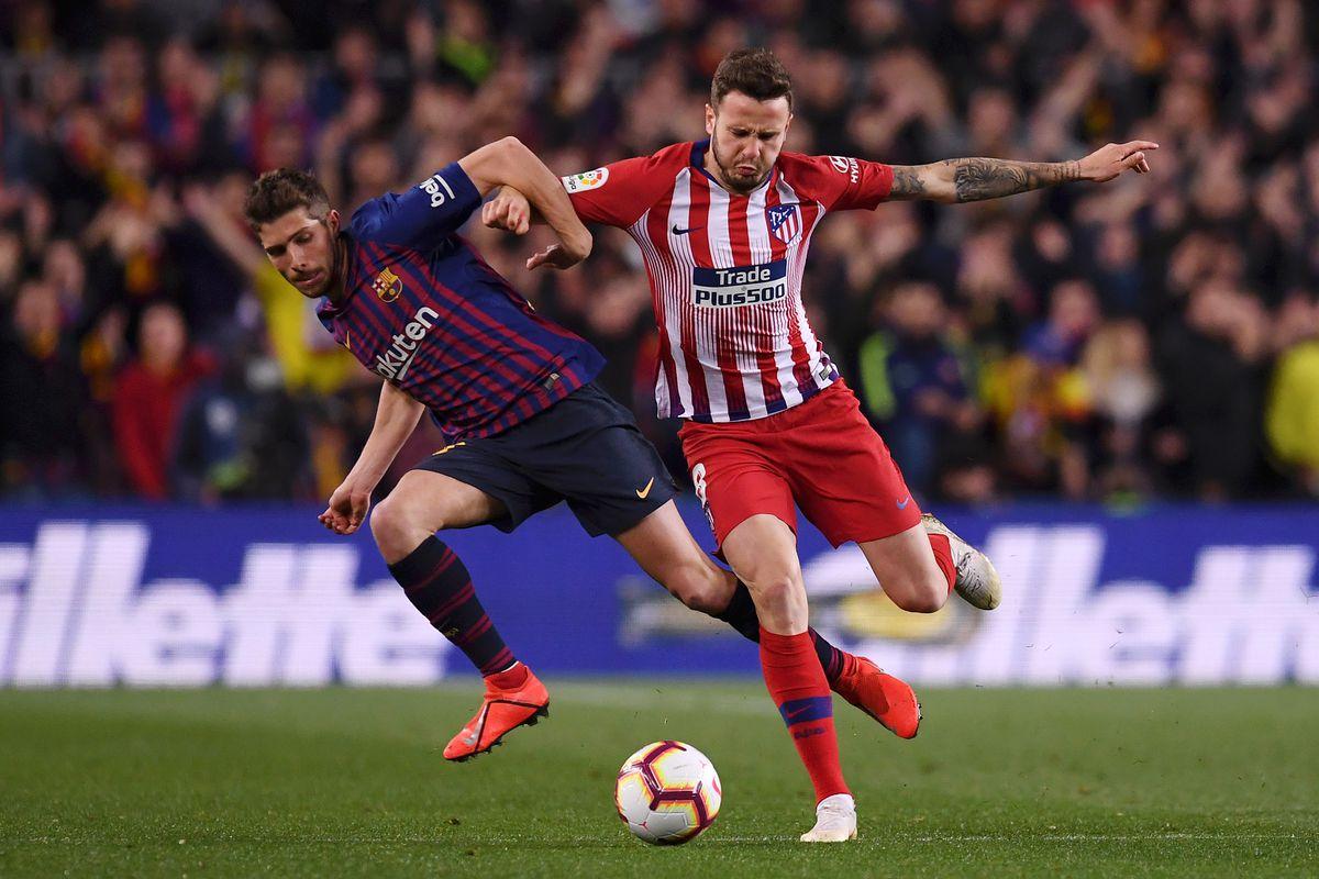 FC Barcelona Atl tico Madrid Into The Calderon